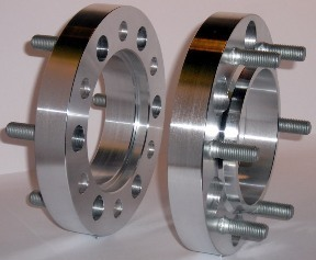 25 mm dick, LK = 6/205 und ML = 161 mm M18x1,5 Mutter 4X25X6i1610X6i1610